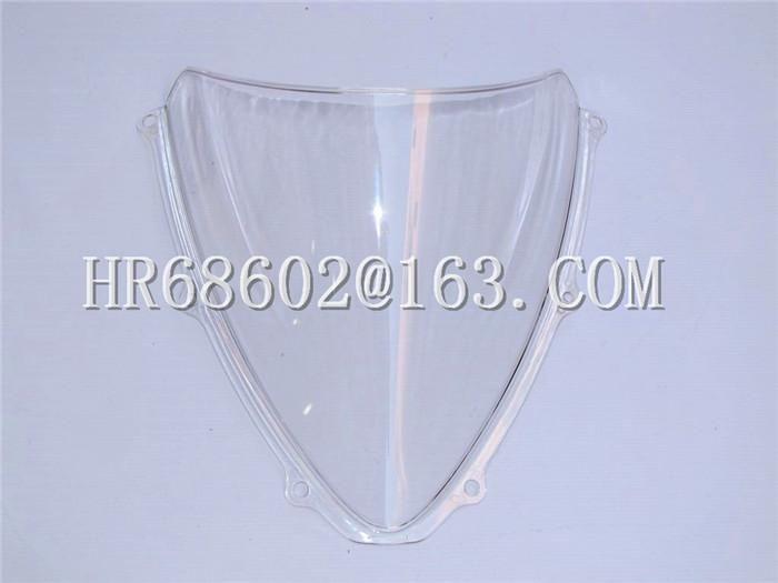 [Visit to Buy] Freeshipping For Suzuki GSXR 600 750 R gsxr 600 750 r K6 2006 2007 k6 06 07 White Windshield WindScreen Double Bubble #Advertisement