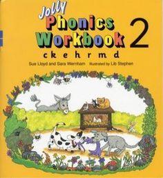 Jolly Phonics Workbook 2 (c-k-e-h-r-m-d)