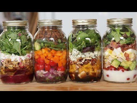 Weight Watchers Salads in a Jar Recipe RoundUP
