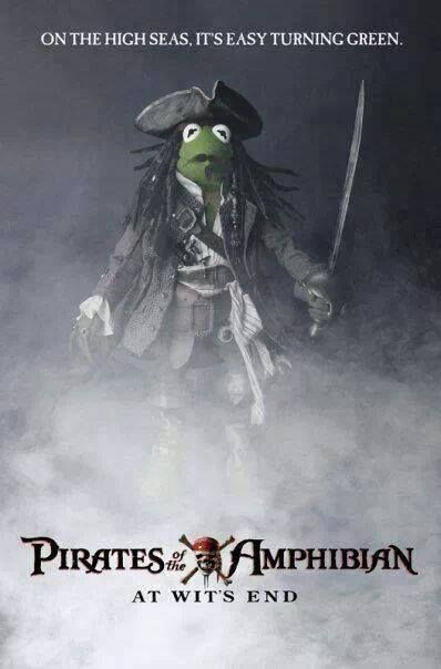 Pirate Kermit