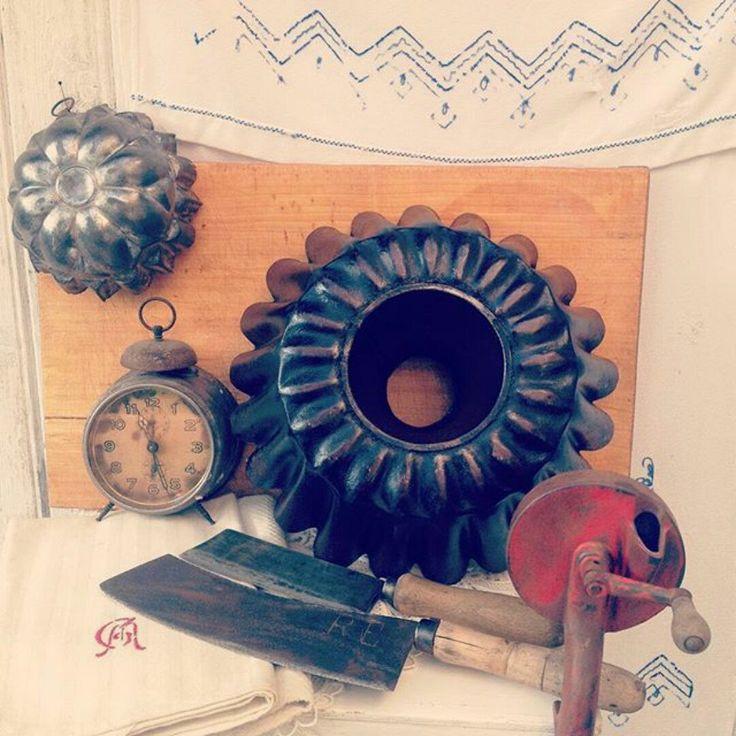 vintage kitchen utensil collection