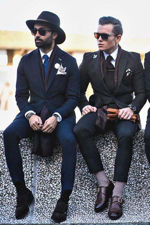 Winter street style inspiration Follow... | MenStyle1- Men's Style Blog