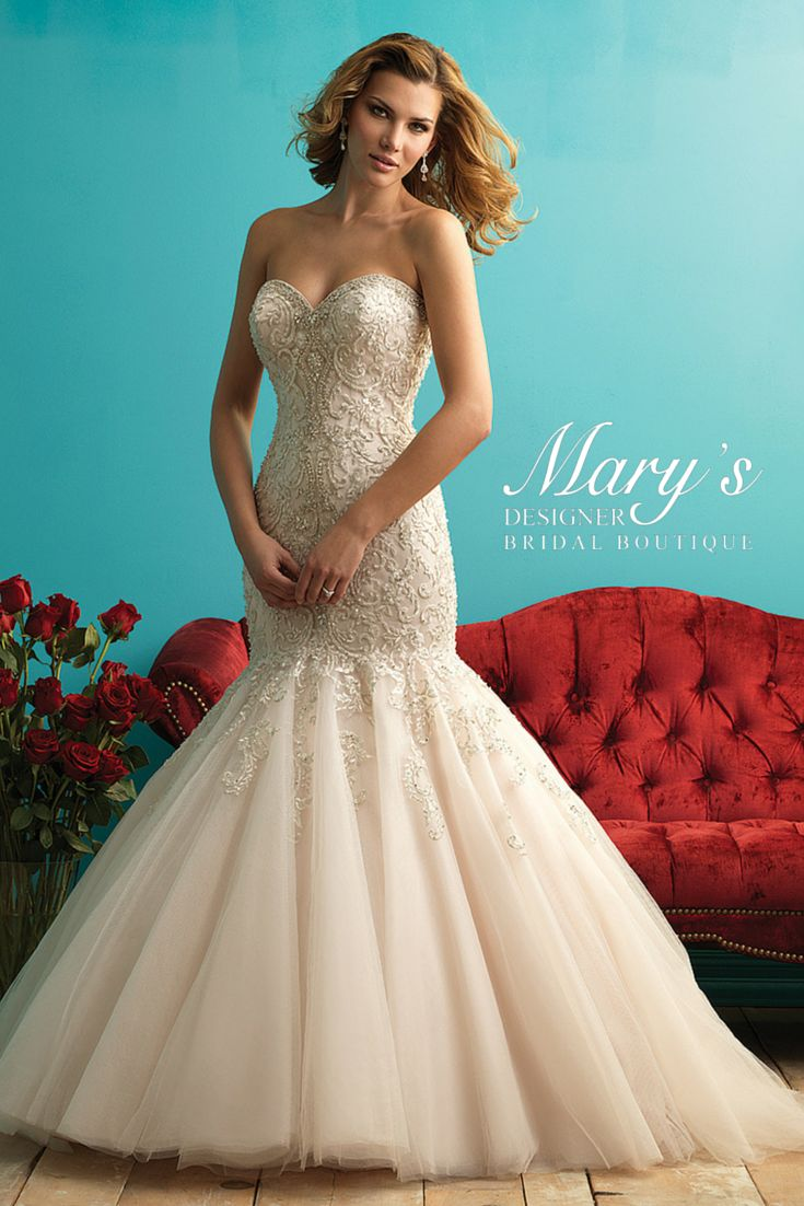 46 best Allure images on Pinterest   Wedding frocks, Short wedding ...