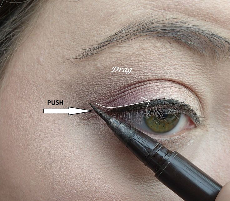 Winged Eyeliner tip (similar idea to the Wayne Goss video that was so helpful to me)
