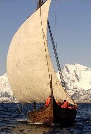 Barco vikingo, Noruega