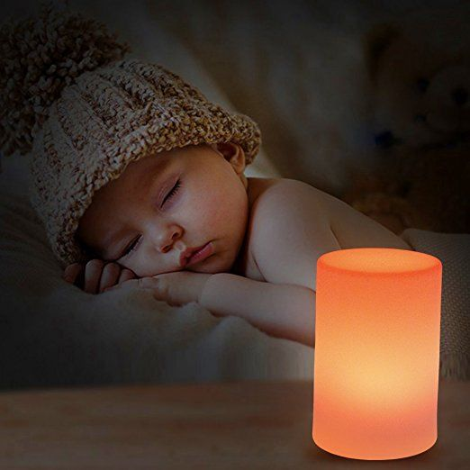Night Light for Children, Bedside Lamp, Mr.Go Led Mood Lighting, 10*22cm, Remote Control, Adjustable Brightness and Colour, Rechargeable Battery Operated, IP65 Waterproof, Energy-efficient LED, Safe PE Plastic, Breakage Resistant, All-night Runtime Decorative Light