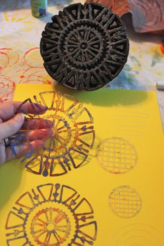 How to make stencil masks from stamped images