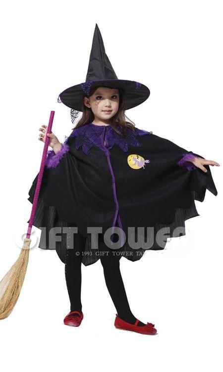 Костюм маленькой ведьмы