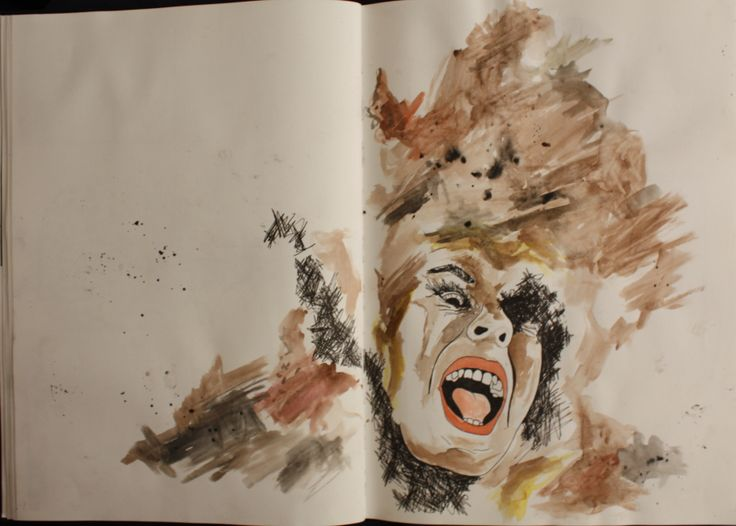page from my sketchbook