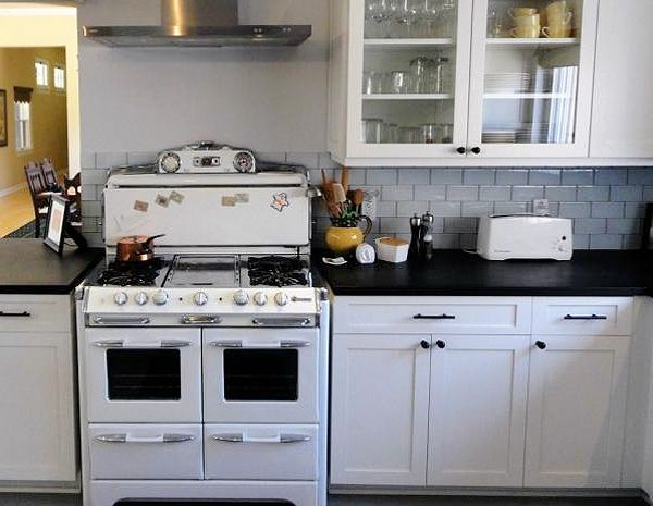 17 best images about want a chambers stove on pinterest for Kitchen remodel white cabinets