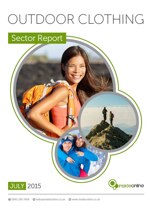 Our analysis of the Outdoor Clothing Industry - SEO Sector Report #SEO #PPC #digitalmarketing