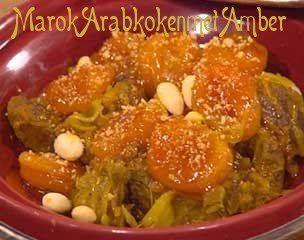 Het bijzondere van Marokkaanse gerechten is dat je vaak ziet dat hartig gecombineerd wordt met zoet. Ik vind dat een onweerstaanbare mix.Hieronder vind je weer zon heerlijke,