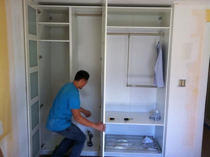 Build Your Own Small Closet Shelving