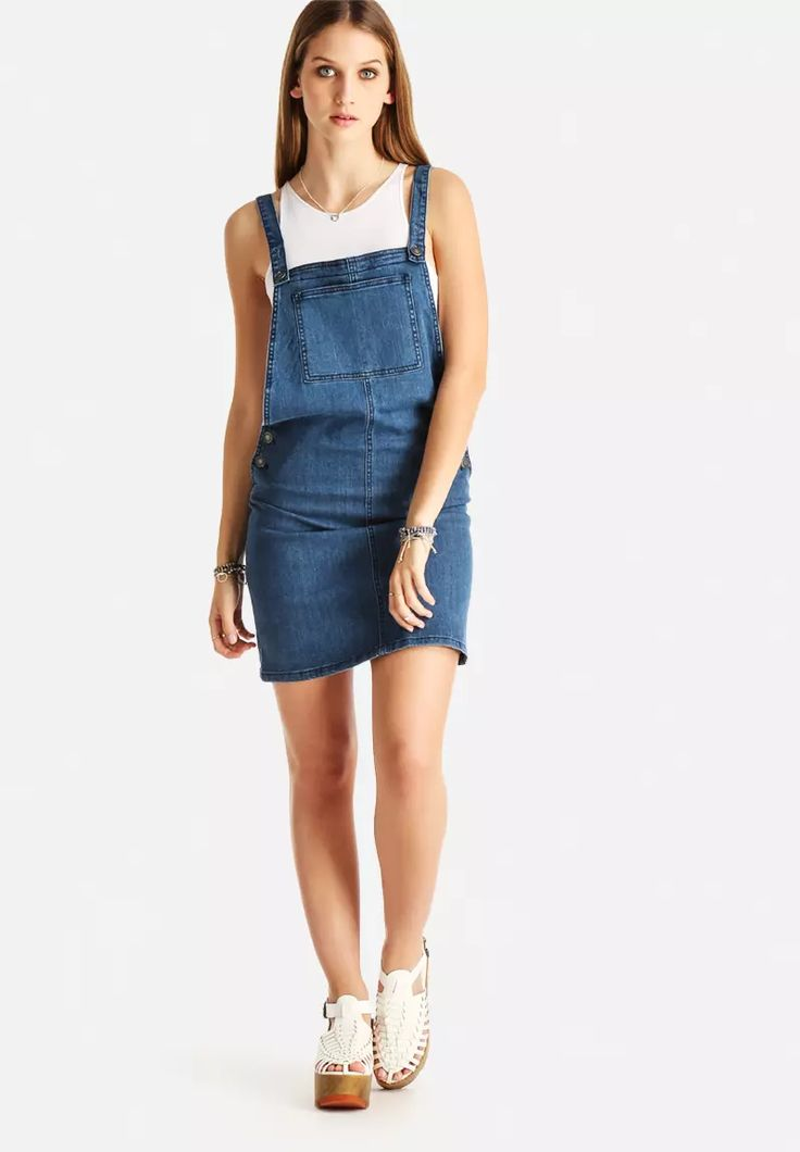 Sonja Dungaree Dress