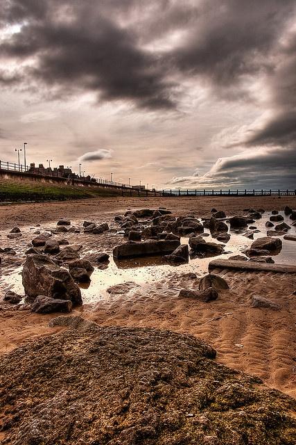 Rhyl Beach...what an awesome photo!