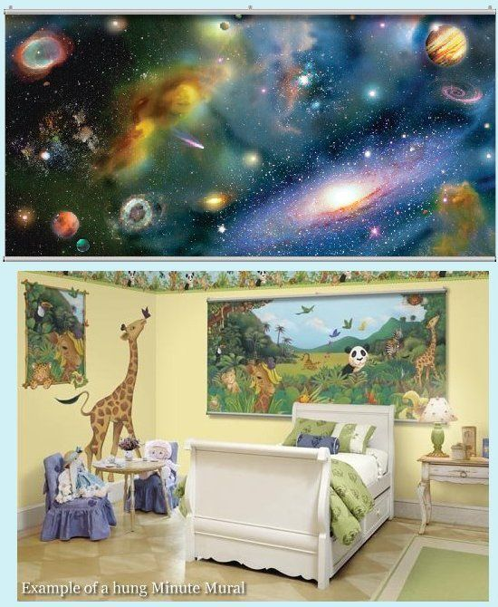Bedroom Ideas, Galaxy Room And Wall Paintings