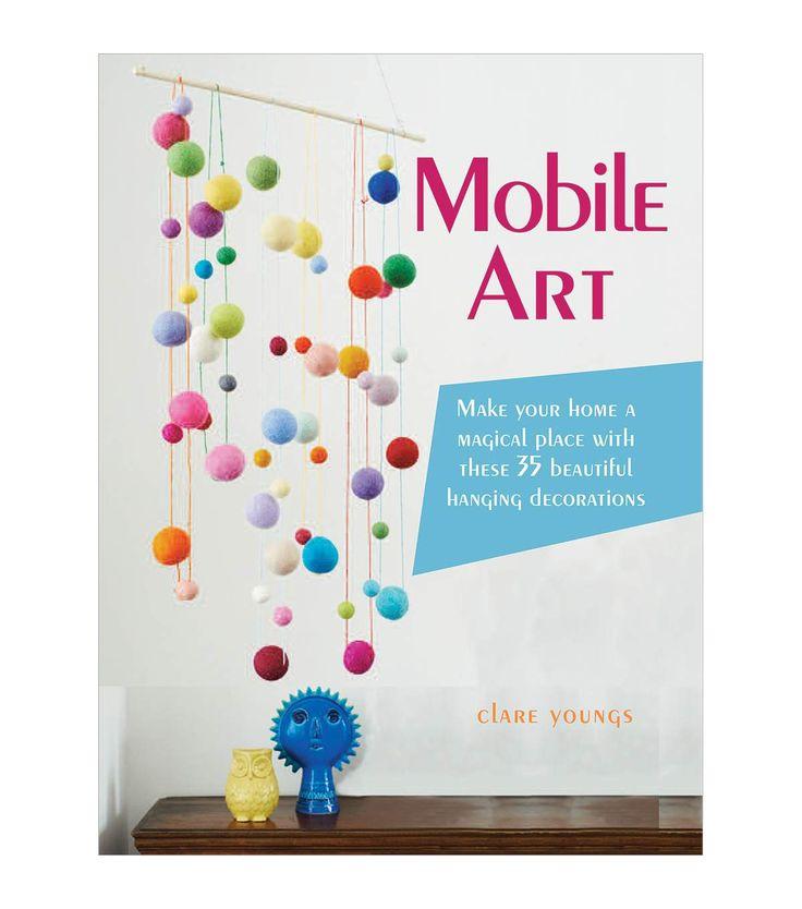Mobile art book d corations suspendre uvres d 39 art et for Art book decoration ideas