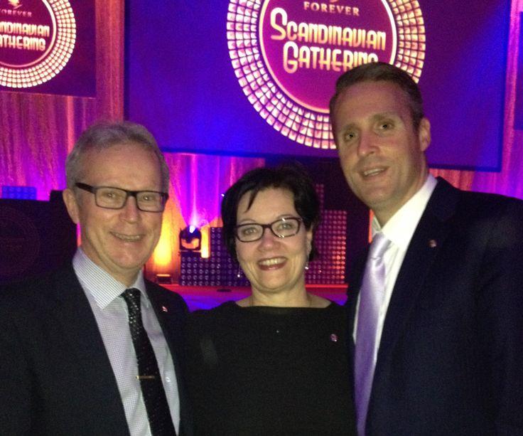Us with Forever vice-president Steve Hatchett