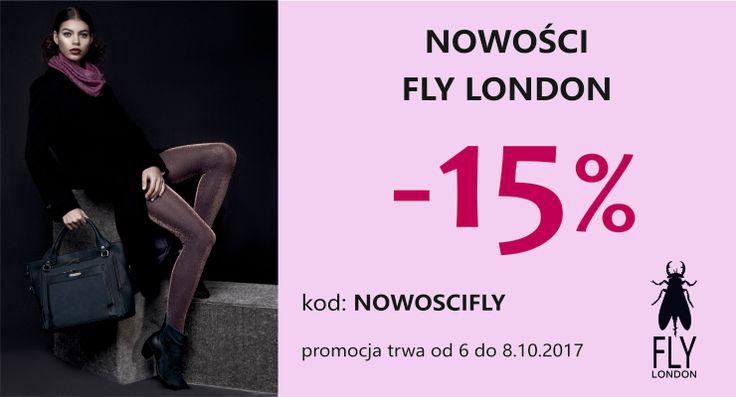 Weekendowa promocja! Wszystkie bnowości Fly London -15% taniej!