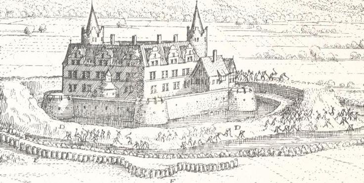 Abbildung des besten Schloß Heldrungen Wasserburg Kyffhäuserkreis Merian 0186 - Billerantik
