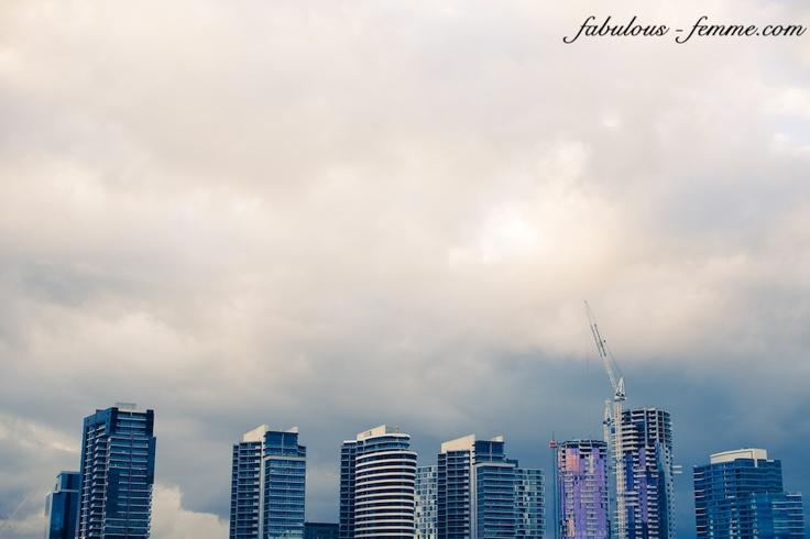 skyscrapers in melbourne docklands