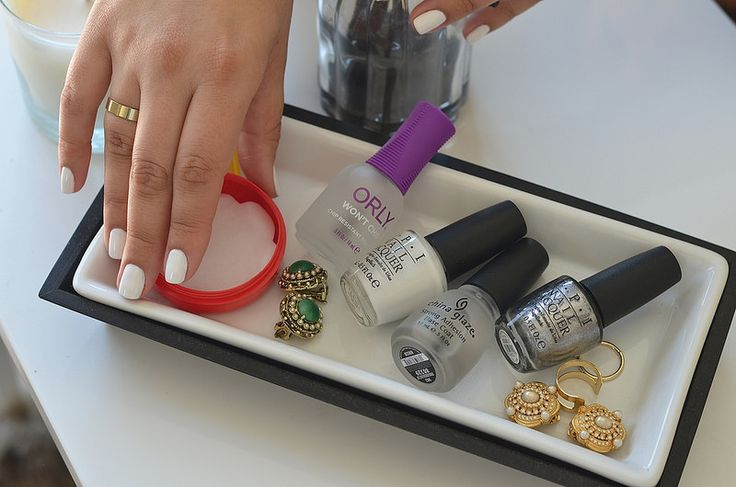 Step-by-step guide to mastering the modern, opaque white manicure at home.