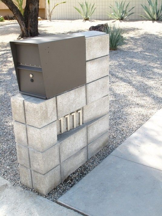 House Ideas,Palm Springs Mailboxes News Project Twenty Two Design,Mid Century Modern Mailbox