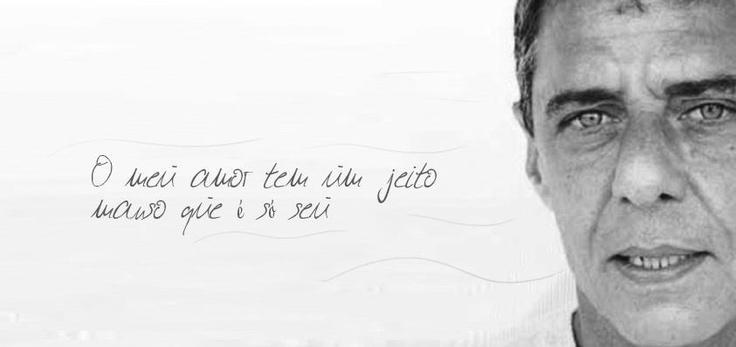 """""""O meu amor tem um jeito manso que é só seu"""".  O Meu Amor // Chico Buarque"""