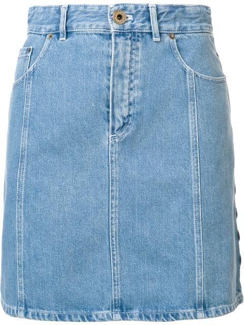 Chloé джинсовая юбка с высокой талией