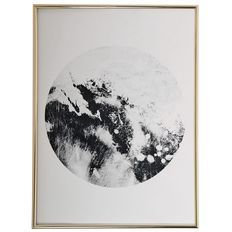 Living & Co Plastic Framed Art Coco Marble 30cm x 40cm