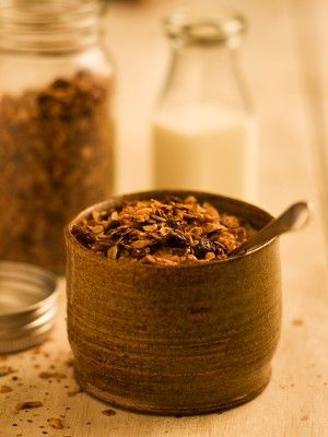 Country Inn Granola recipe from Chef Michael Smith. One of my favorites to have with greek yogurt in the morning.