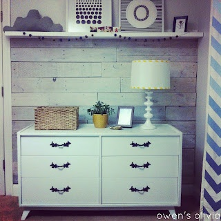 Distressed White Plank Walls
