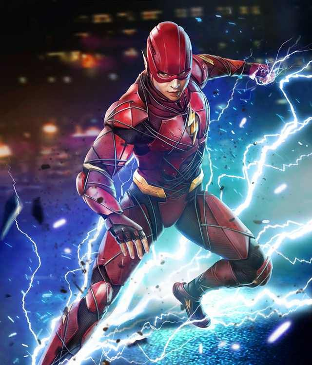 Injustice 2 Mobile Roster Flash Comics The Flash Injustice 2
