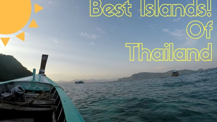THE BEST ISLANDS IN THAILAND!  Mai Ton, Phi Phi, James Bond, Coral, Similan
