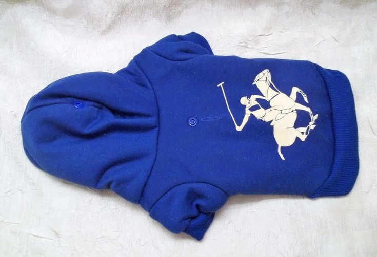 Beverly Hills Polo Club Lightweight Faux Fur Lined Hoodie For XS X-Small Dog #BeverlyHillsPoloClub