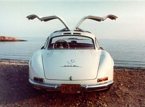 Mercedes Gullwing                                                       …