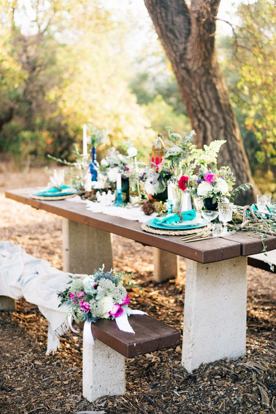 Boho Glam Wedding Ideas | Photo By Jenna Bechtholt Photography | Read More    Http: