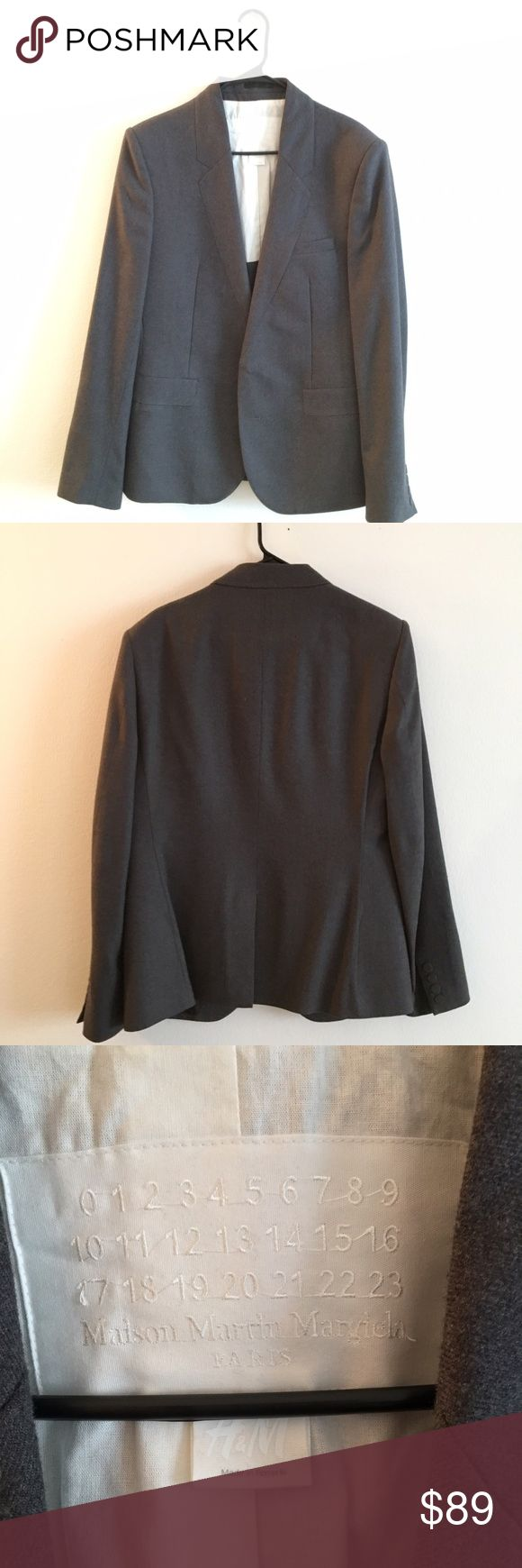 Maison Martin Margiela Sport Jacket Men's Sport Jacket Size 44R Perfect Condition. 98% Wool Maison Martin Margiela for H&M Jackets & Coats Lightweight & Shirt Jackets