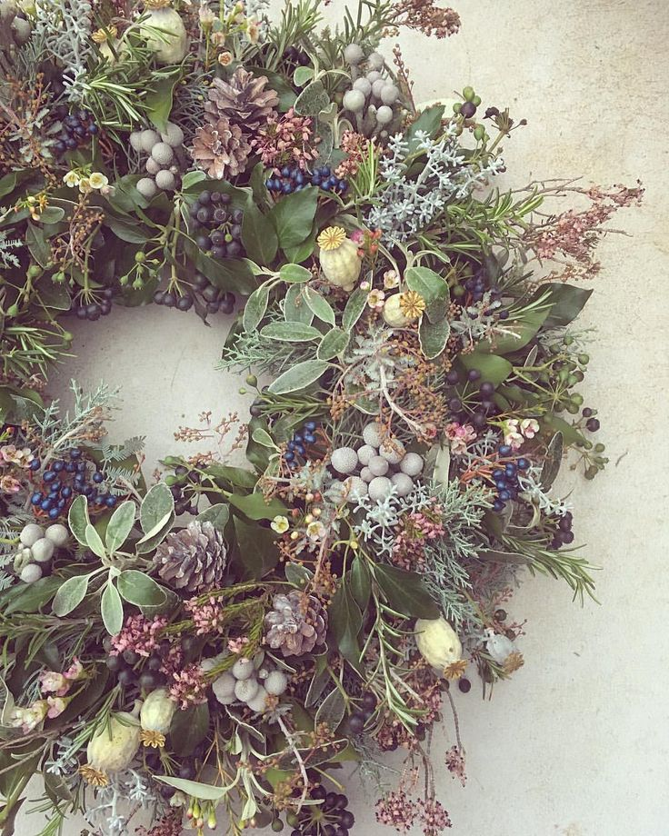 """273 Likes, 22 Comments - Joanne Truby (@joannetrubyfloraldesign) on Instagram: """"First wreath of the year & it feels good  our order books are now officially open for all things…"""""""