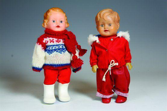 Johny og Jane med innvendig pip. Åsmund S.  Lærdal