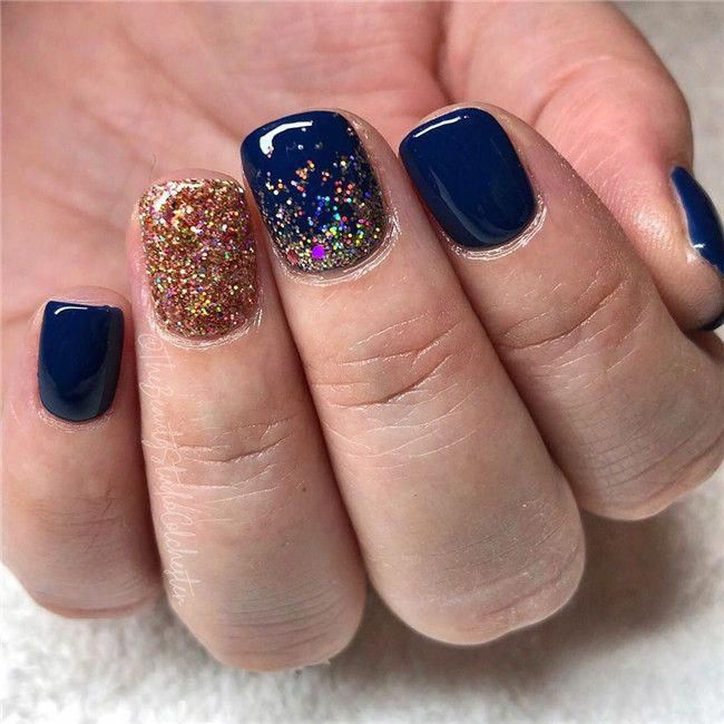 36 Short Gel Nails Art Design Take You New Look Amazing In ...