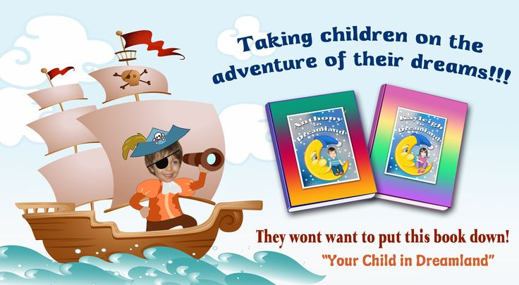 An adventurous personalized book with fun and imaginative scenes. Help your child get over bad dreams and nightmares with ideas from this cute story