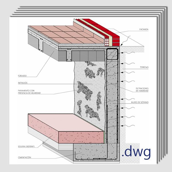 17 best images about detalles constructivos on pinterest for Detalles dwg