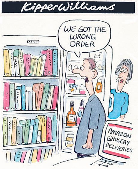 Amazon grocery deliveries