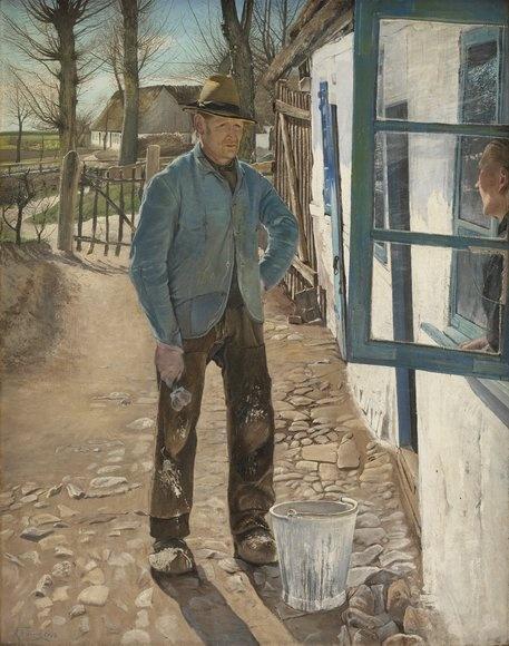 L.A. Ring: Kalkemanden 1908