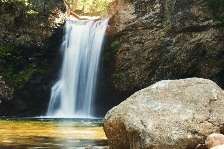 Drysdale Falls, Wentworth Valley, Nova Scotia.