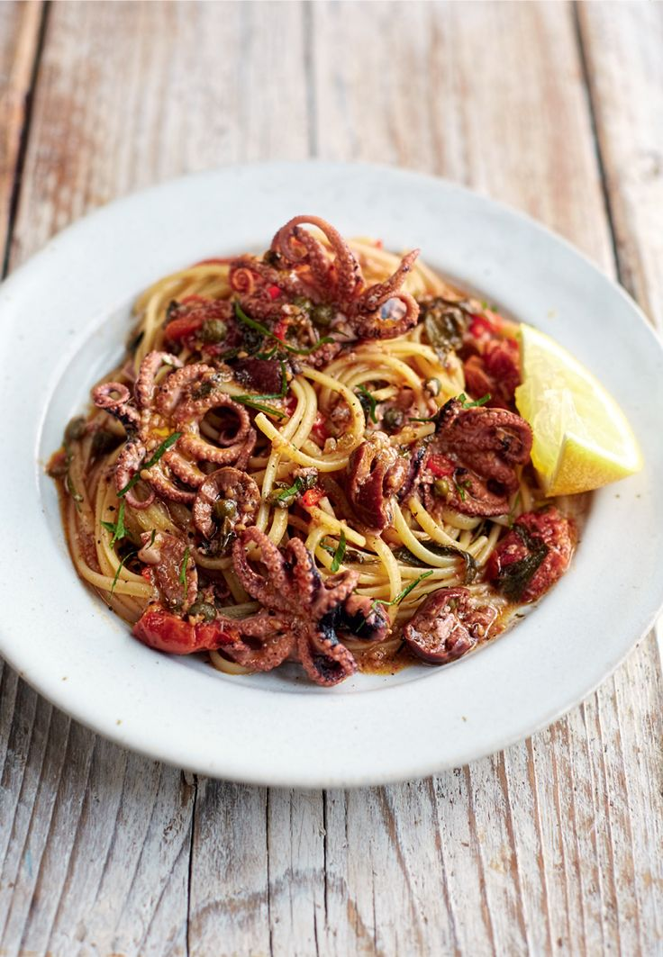 I Quit Sugar Octopus Linguine recipe by The Pasta Book.