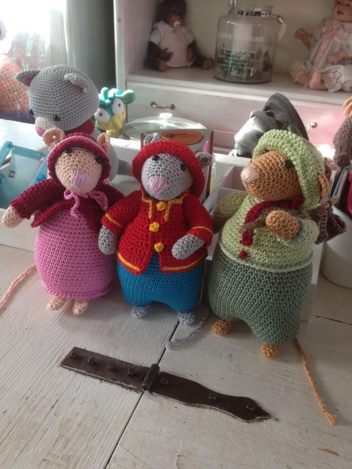 10 Best Dickens Muizen Haken Images On Pinterest Crochet Mouse