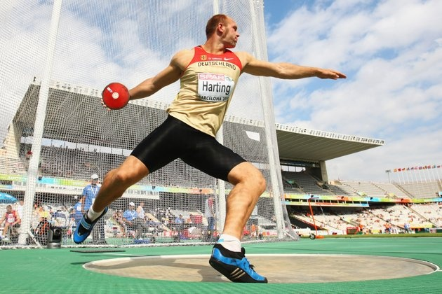 15 Faces to Watch at the 2012 London Olympic Games - German discus thrower Robert Harting came in fourth at the 2008 Olympic Games and will no doubt be determined not to let a medal slip through his fingers this year.