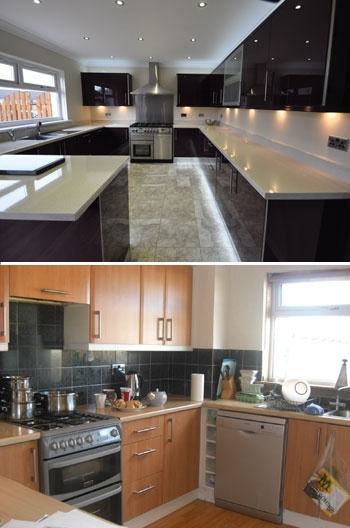 21 best images about kitchen transformations before after pictures on pinterest home home - Stylishly modern kitchen islands additional work surface ...